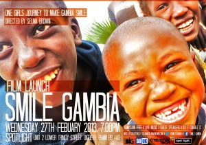 Smile Gambia poster
