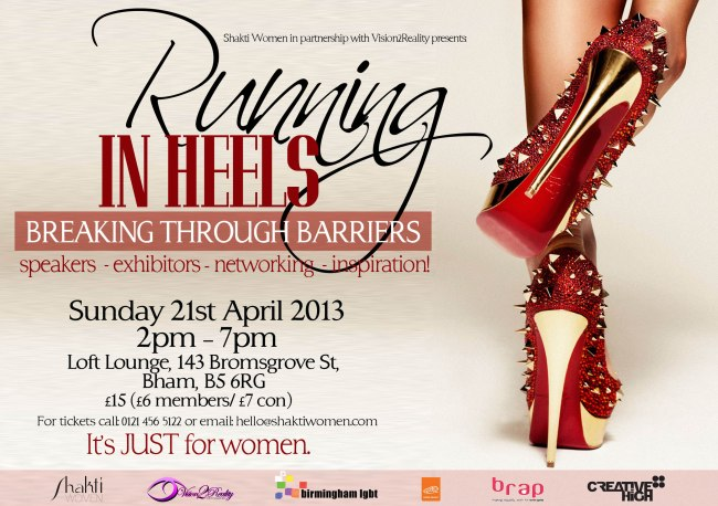 Running in Heels Competition