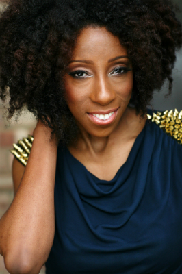 Vinna Best, co-founder of Natural Hair UK and lady behind Officially Natural