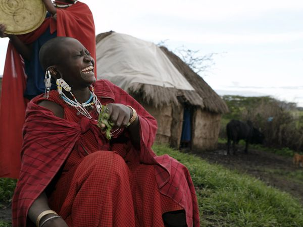 Masai Tribe - Laughter is the best medicine